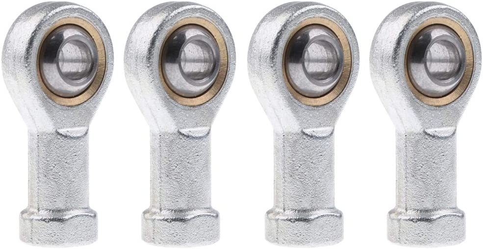 M8 8mm Male Rod End Oscillating Bearing Swivel Threaded Ball Joint Heavy Duty of 4 pack