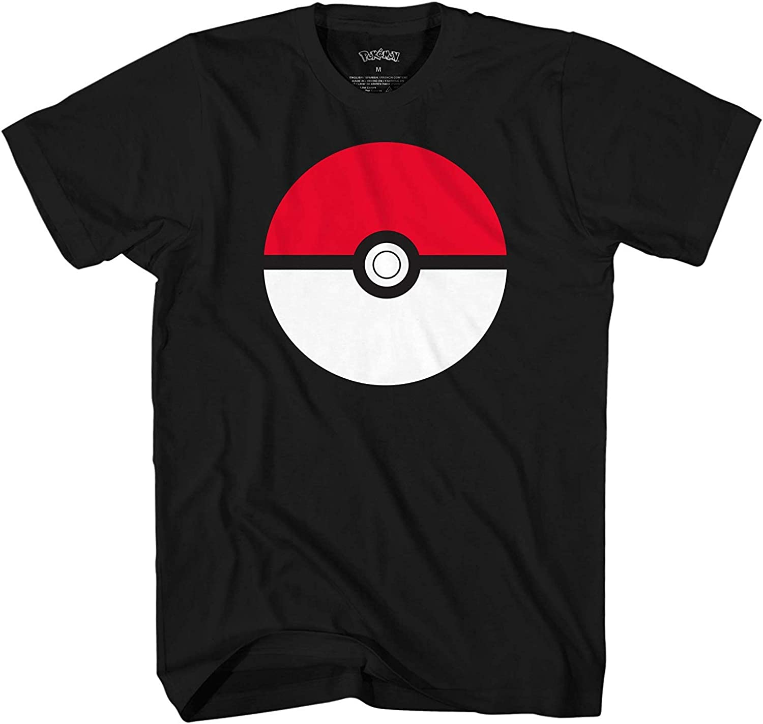Pokemon Men's Pokémon Poké Ball Icon Trainer T-Shirt