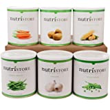 Premium Freeze Dried & Dehydrated Vegetable 6 pack by NutriStore – enjoyed by babies, toddlers, commuters & families for heal