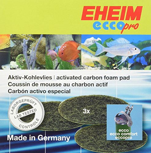 Eheim AEH2628310 Carbon Filter Pad Ecco for (Eheim Carbon Filter Pad)