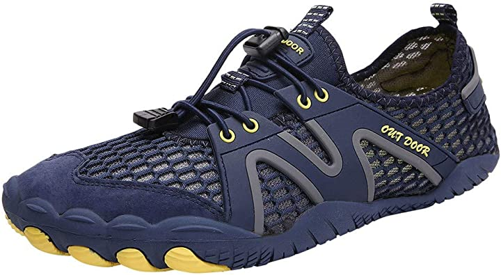 VonVonCo Leisure Couples Beach Swim Water Shoes Quick-Dry Drawstring Creek Diving Shoes