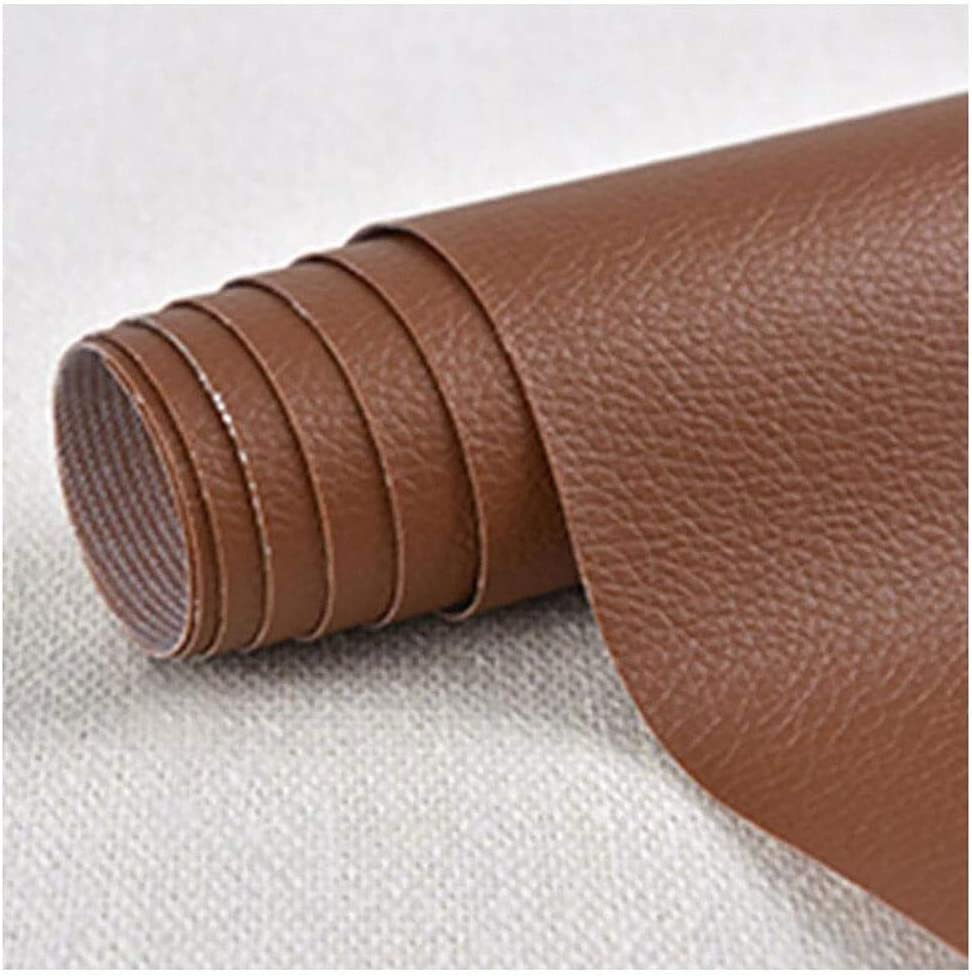 Genuine Faux Leather Repair Patch Peel and Stick for Sofas Hand Bags,Furniture car Seats Leather Couch Patch Jackets 0.5m Wide 1.37m Length,Purple Blue Pink Brown Green Yellow red White Black