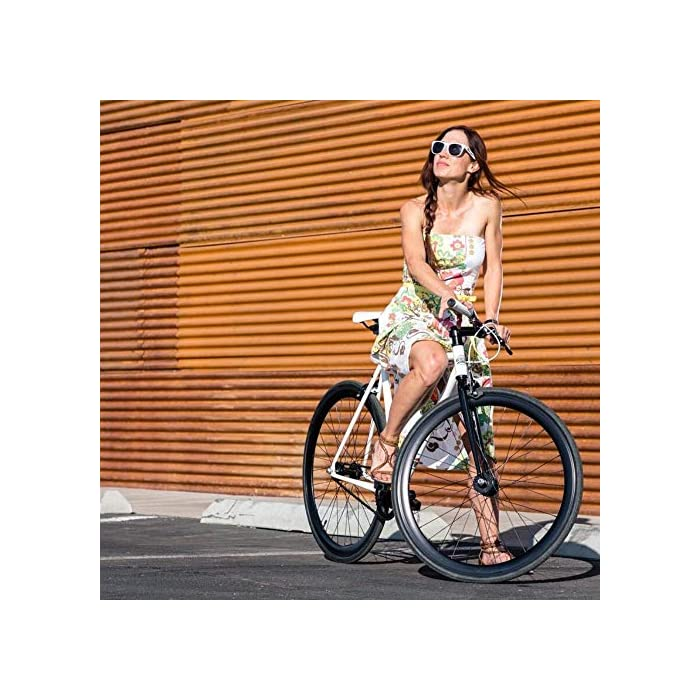 State Bicycle Core Line Durable Steel Frame Ft Seat Stay Rack Mounts Fixed Gearsingle Speed Bike Riser Bar