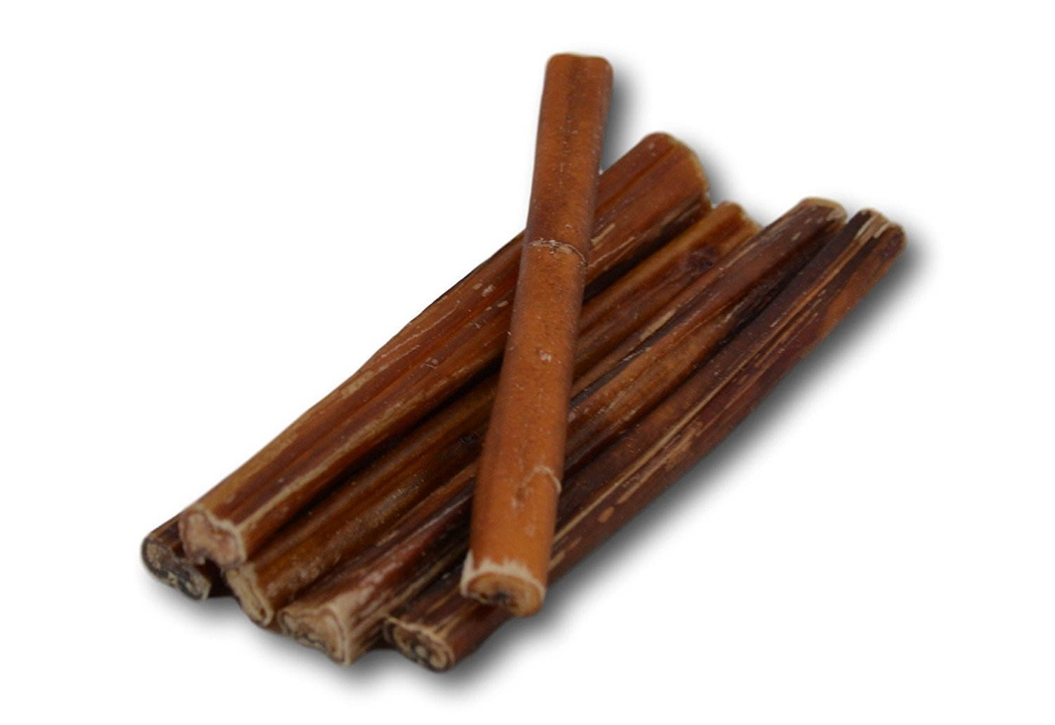 6'' Premium Bully Sticks - All Natural Dog Treats (25 Pack)