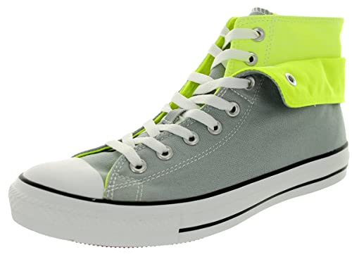 239b0d49534 ... sweden amazon converse unisex chuck taylor all star two fold hi mirage  gray mens 3 womens buy like new neon pink and lime green ...