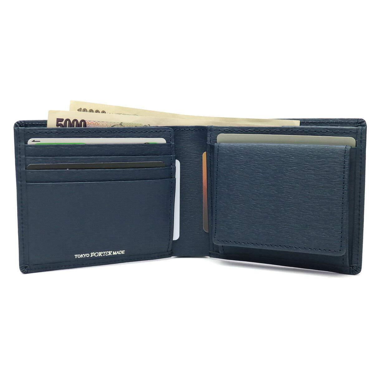 0a7c6336b509 Amazon   PORTER(ポーター) CURRENT カレント 二つ折り財布 052-02204 ブラック   財布