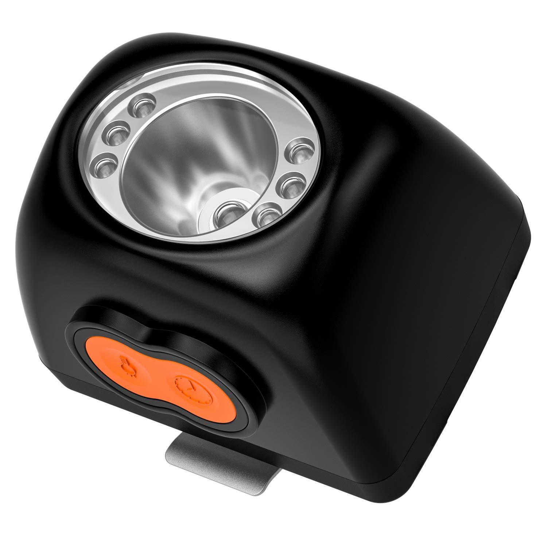 Kohree Miner Safety Cap Cree 3W LED Cordless Headlight KL4.5LM Lamp LI-ion Battery LCD Display by Kohree