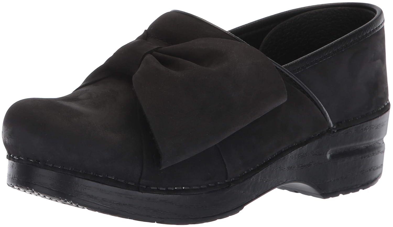 Dansko - Zuecos de Cuero para Mujer Negro Negro Negro Negro 28a94f