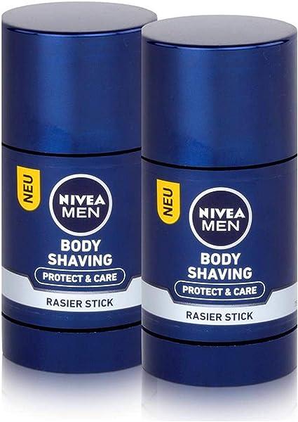 Nivea Body Shaving Afeitado Stick 75ml - Protect & Cuidado (2 Pack): Amazon.es: Belleza