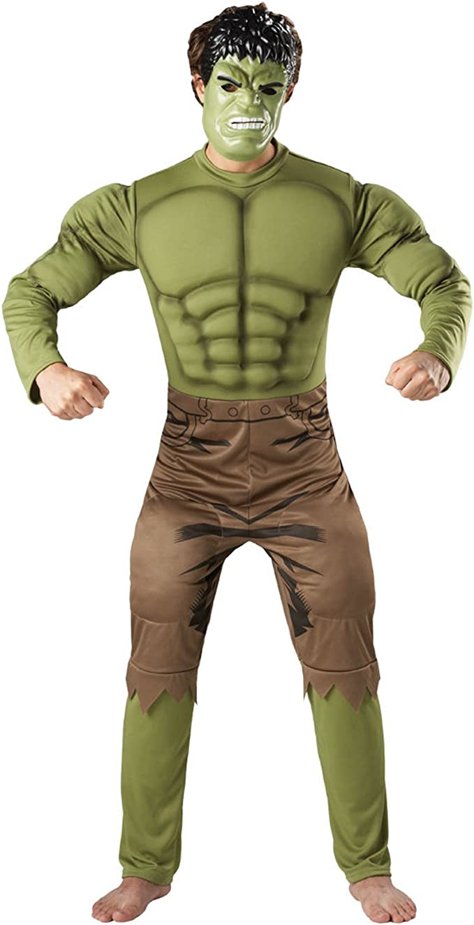 Hombre Disfraz Marvel superh erld Thor Capitán América Hulk Iron ...
