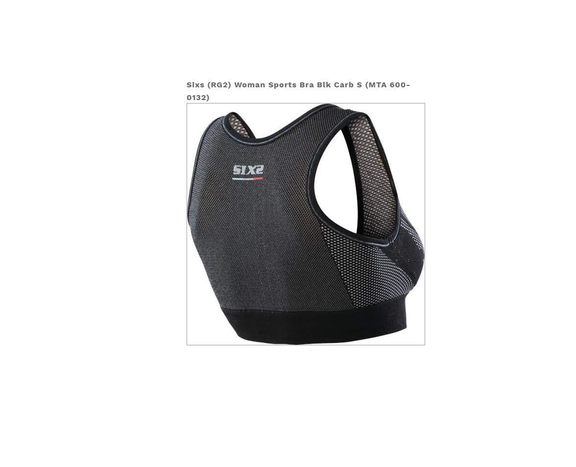 SIXS Women's (600-0133) Sports Bra Underwear (Black Carbon, Medium) by SIXS (Image #1)