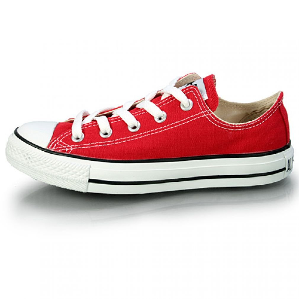 Converse Unisex Chuck Taylor All Star Low Top Red Sneakers - 10 US Men / 12 US Women