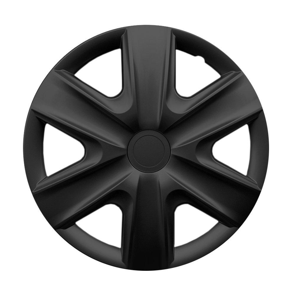 15 Zoll Radzierblenden HEXAN Radkappen passend f/ür fast alle VW Volkswagen wie z.B Schwarz Caddy Maxi