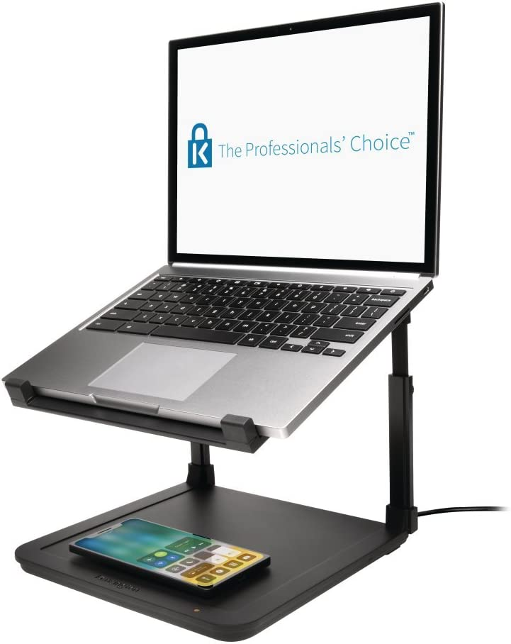 Kensington Laptop Riser with Qi Charging Pad (K52784WW)