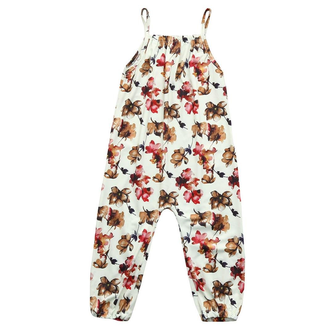 b941bea55 Amazon.com  Pollyhb Baby Girls Jumpsuit