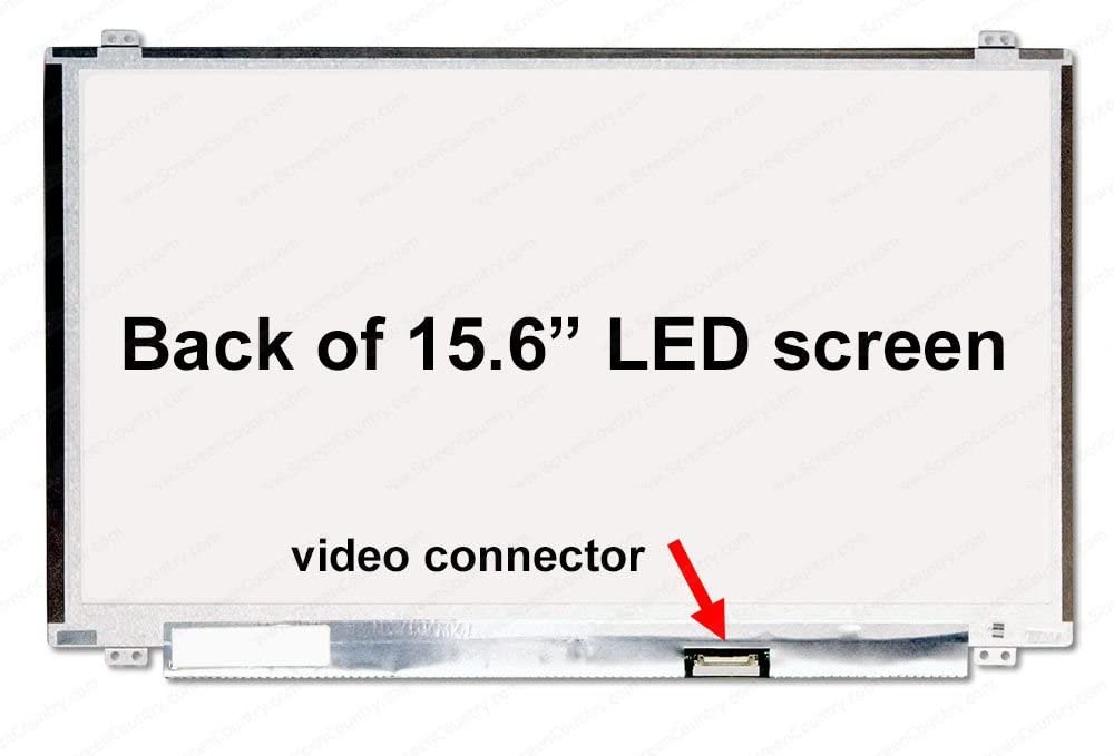 Fullcom 15.6 inch Screen Compatible with GT62,GE63,GS63VR,7RG-078US, GP63 Leopard 8RE 120HZ fit N156HHE-GA1