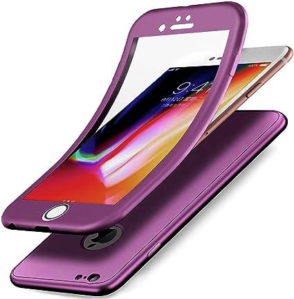 Coque iPhone 6S Plus,Coque iPhone 6 Plus,Intégral 360 Degres Full ...