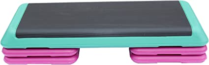 Large Apollo Athletics Aerobic Step with Rubber Surface