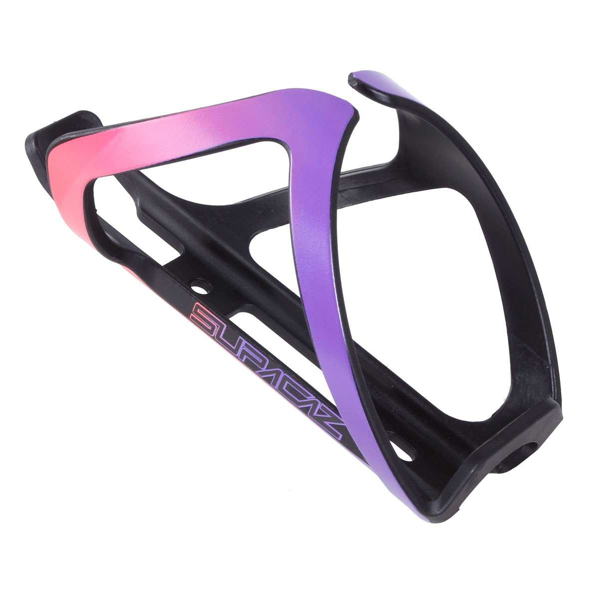 8d227764df Supacaz Unisex's Tron Side Entry Purple and Neon Pink Bottle Cage:  Amazon.co.uk: Sports & Outdoors