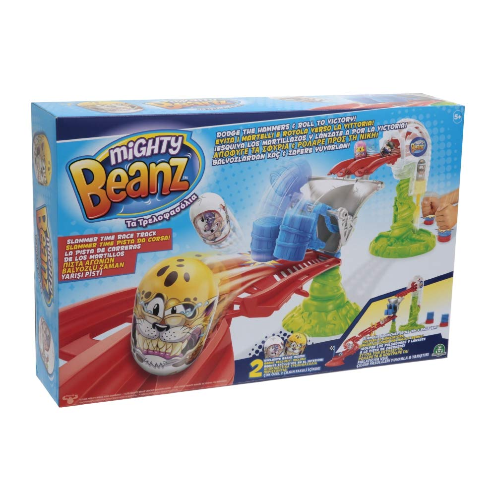 Mighty Beanz Giochi Preziosi MGH06000 Slammer Time Race Track