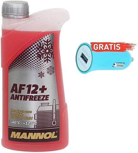 Ein Liter Original Ein Liter Mannol Kühler Frostschutz Mn4012 1 Autoladegerät Geschenkt Auto