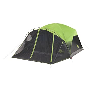 Coleman Carlsbad Fast Pitch 6-Person Dome Tent with Screen Room  sc 1 st  Amazon.com & Amazon.com : Coleman Carlsbad Fast Pitch 6-Person Dome Tent with ...