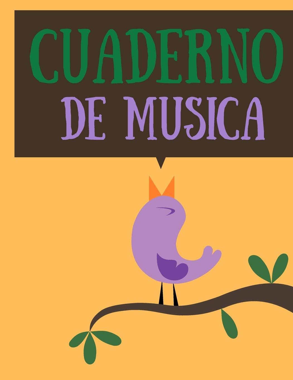 Cuaderno de musica: Cuaderno De Musica Pentagramado, Con 8 ...