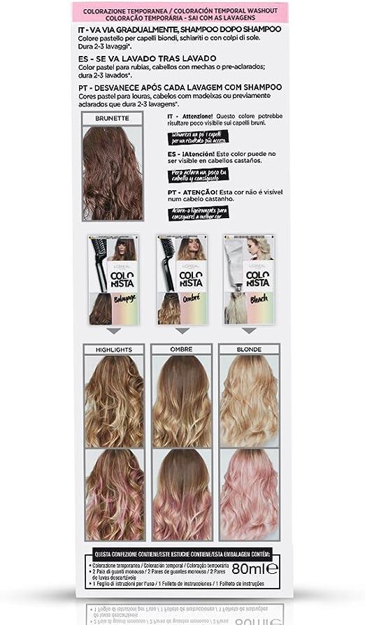 LOreal Paris Colorista Coloración Temporal Colorista Washout - Pink Hair
