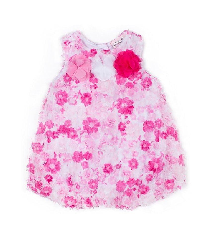 b7c53fbea57 Amazon.com  Little Lass Baby Girls Floral Bubble Romper