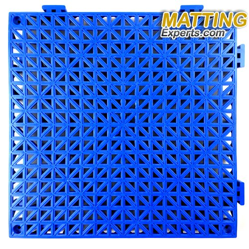 VinTile Modular Interlocking Cushion Floor Tile Mat Non-Slip with Drainage Holes for Pool Shower Locker-Room Sauna Bathroom Deck Patio Garage Wet Area Matting (Pack of 6 Tiles - 11.5'' x 11.5'', Gray) by MattingExperts (Image #1)
