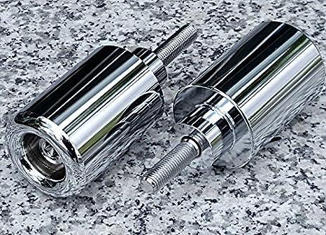 Amazon.com: i5® CHROME FRAME SLIDERS for Suzuki Hayabusa 1999-2007 ...