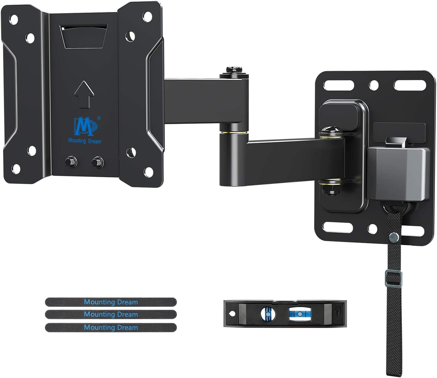 MD TV Mount Lockable RV TV Mount for 10-26 Inch Flat Screen TV