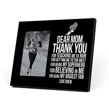 Amazoncom Gone For A Run Personalized Track And Field Photo Frame