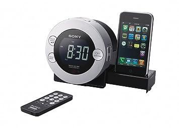 Sony ICF-C7iP Reloj Digital - Radio (Reloj, Digital, 87,5-108 MHz, 531-1602 kHz, 0,8 W, 3,8 cm): Amazon.es: Electrónica