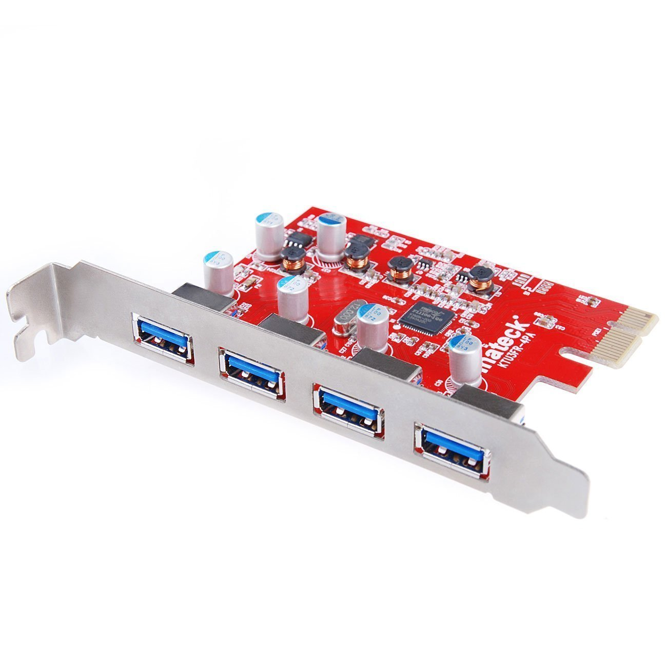 Inateck 4 Ports PCI-E to USB 3.0 Express Card Compatible Mac Pro (Early 2008 to 2012 Late Version) KT4004 by Inateck