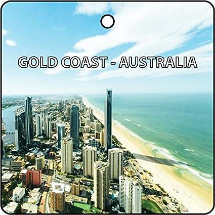 Amazon com: Gold Coast - Australia Car Air Freshener (Xmas