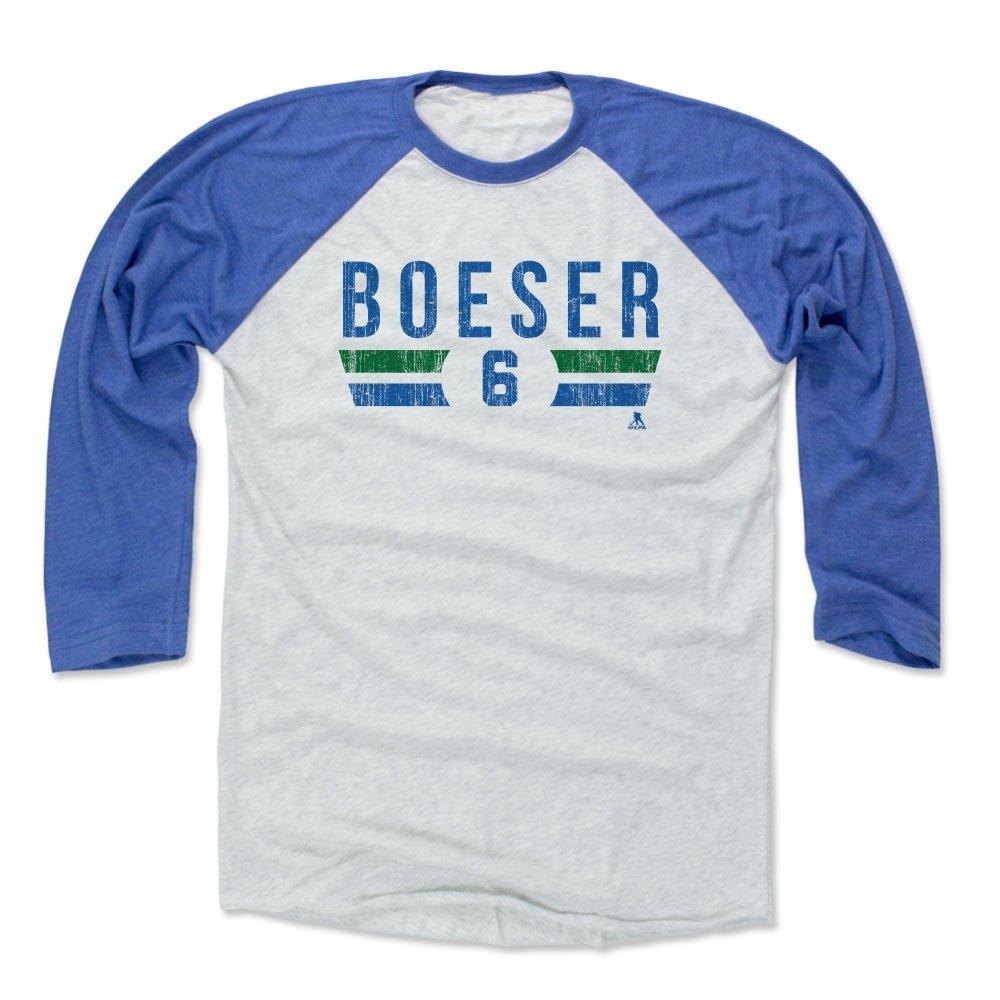 new product 5ee9f 8bd41 Amazon.com : 500 LEVEL Brock Boeser Baseball Shirt ...