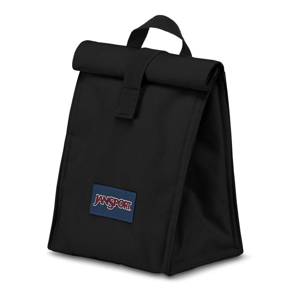 JanSport Rolltop Lunch Bag - Black - Insulated, Spill-Resistant by JanSport (Image #2)