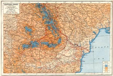 WW1 EASTERN FRONT:Romania Hungary Ukraine Moldova battle