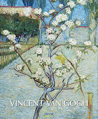 Vincent van Gogh 2018: Kunstkalender mit Werken des Künstlers Vincent van Gogh. Großer Wandkalender mit Meisterwerken der modernen Malerei. Format: 45,5 x 55 cm, Foliendeckblatt