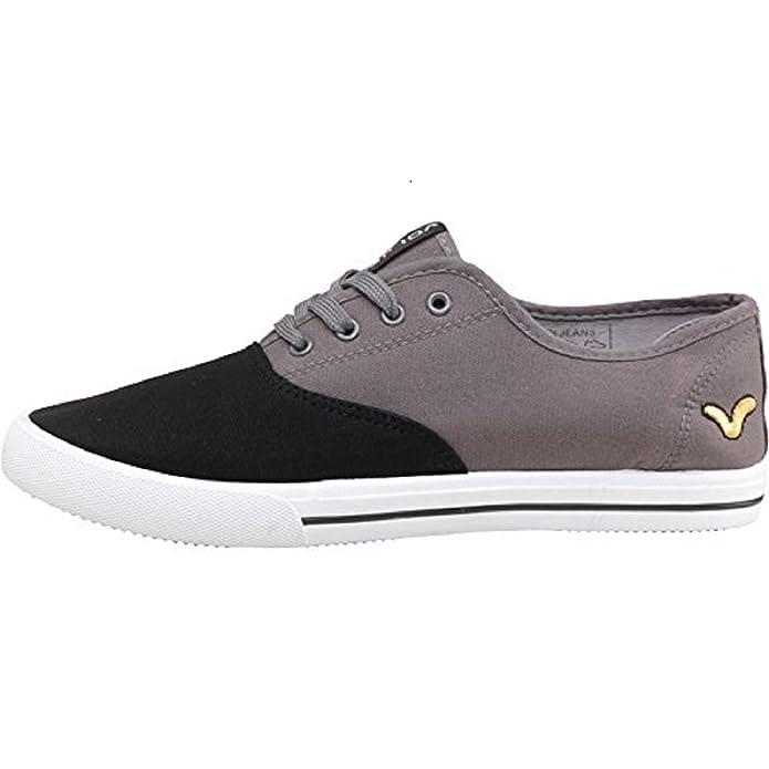 2fd1e9838f79 Mens Designer Voi Jeans Canvas Shoes Lace Up Pumps Trainers Plimsoles  Footwear Bushnell  Amazon.co.uk  Shoes   Bags