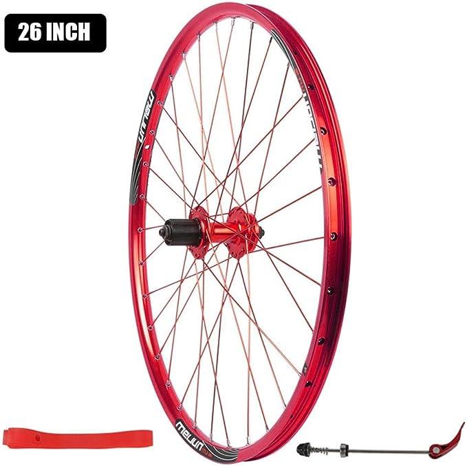 Zyy Montaña Rueda Trasera de Bicicleta, 26