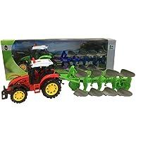 RCG Tractor con Remolque de Juguete Tractor agrícola