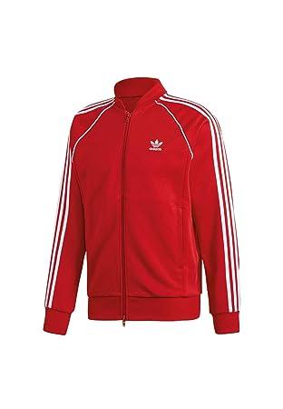 adidas Herren SST Originals Jacke Power Red, 2XL