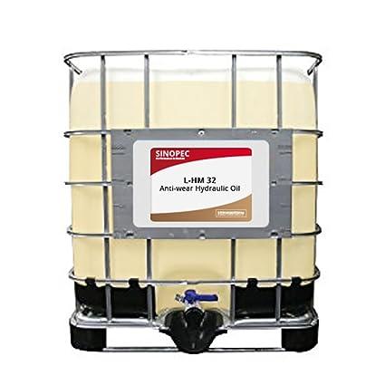 Sinopec AW 32 líquido aceite hidráulico (ISO VG 32, SAE 10 W ...