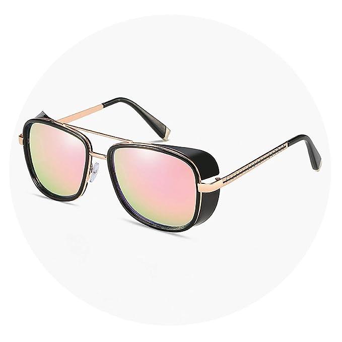 Amazon.com: Gafas de sol para hombre Steampunk de Tony Stark ...