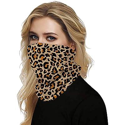 Simayixx Men Women\'s Turban Scarf Bicycle Neck Tube Bandana Face Protection Dust Casual Headwear Seamless Neck Gaiter (D, Free Size): Clothing [5Bkhe1906790]
