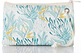 product image for Sea Bags Aquamarine Ocean Flora Wristlet