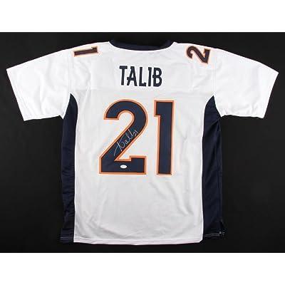 separation shoes bfca1 b37a9 Aqib Talib Signed Broncos Jersey JSA 4 Pro Bowl 2013 2016 ...