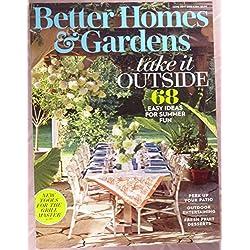 Better Homes & Gardens Magazine June 2017 | Take it Outside